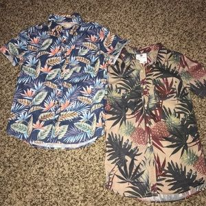 Hollister & On The Byas button down shirts